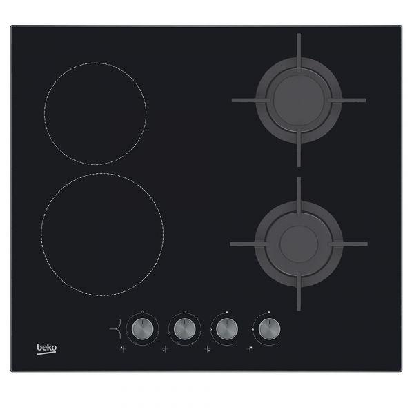 Cocina Beko | Tupi S A Cocina Beko 4h Anafe Vitroceramica A Gas Hilm64222s