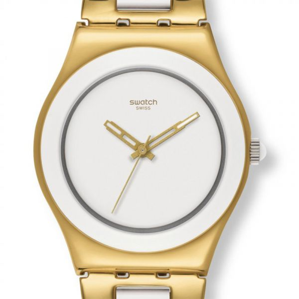 RELOJ SWATCH YELLOW PEARL YLG122G