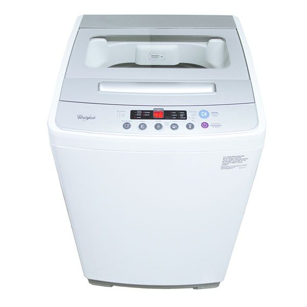 LAVARROPAS WHIRLPOOL 10.1KGS MOD WWI10AW9LS BLANCO CARGA SUPERIOR W343 850RPM