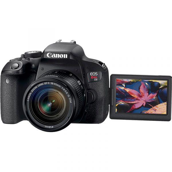 CAMARA FOTOGRAFICA CANON T7I LENTE 18-55