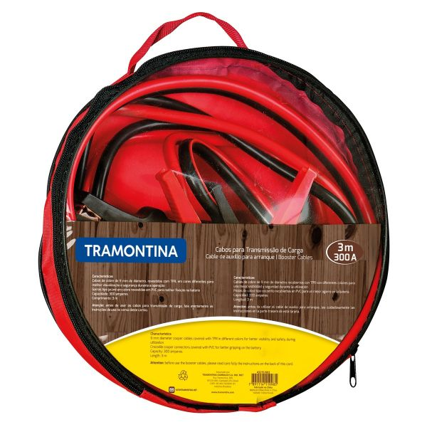 ACOPLE PARA VEHICULO TRAMONTINA 300A 3M 43215/003