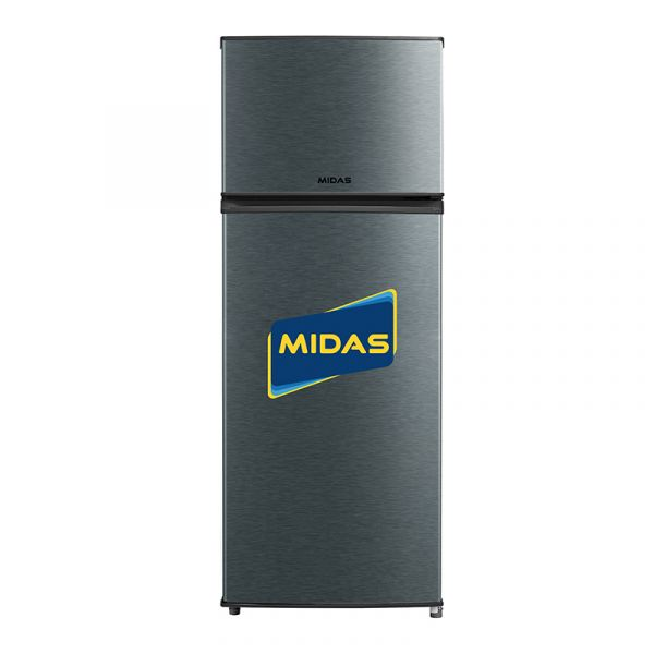 HELADERA MIDAS 300LTS. 2P. MD-HD300/HD300LIXM INOX