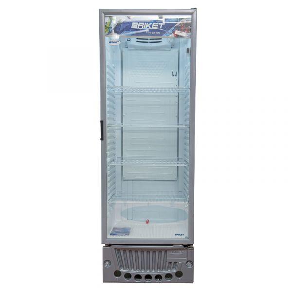 EXHIBIDORA BRIKET 500 LTS M5000 LED SUPERIOR CEN.INT. 4 PARRILL REGULAB.REF.8124