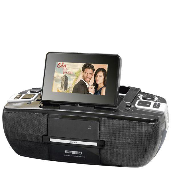MINICOMPONENTE SPEED MW-9130-D 2500W DVD/TV/USB/MP3