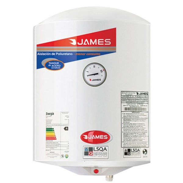TERMO CALEFON JAMES 40 LTS VERTICAL