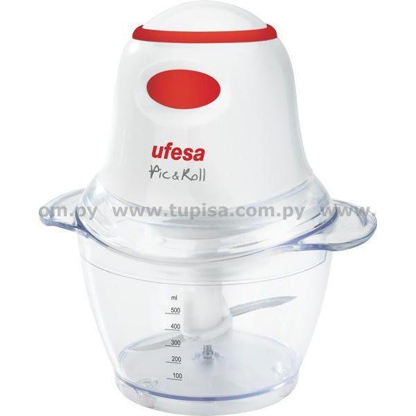 PICADORA UFESA  0,5 LTS PD5325 CHOPPER BOWL DE PLASTICO PICA TODO TIPO DE ALIMEN