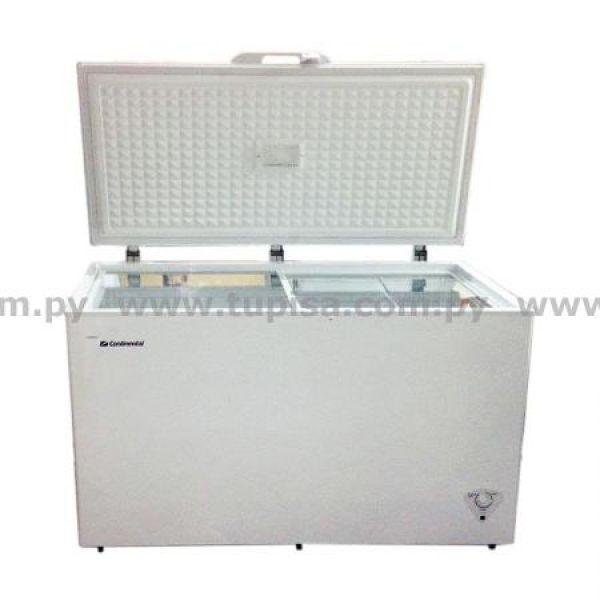 CONGELADOR CONTINENTAL 450LTS 1P HORIZONTAL FCMD450 DOBLE FUNCION