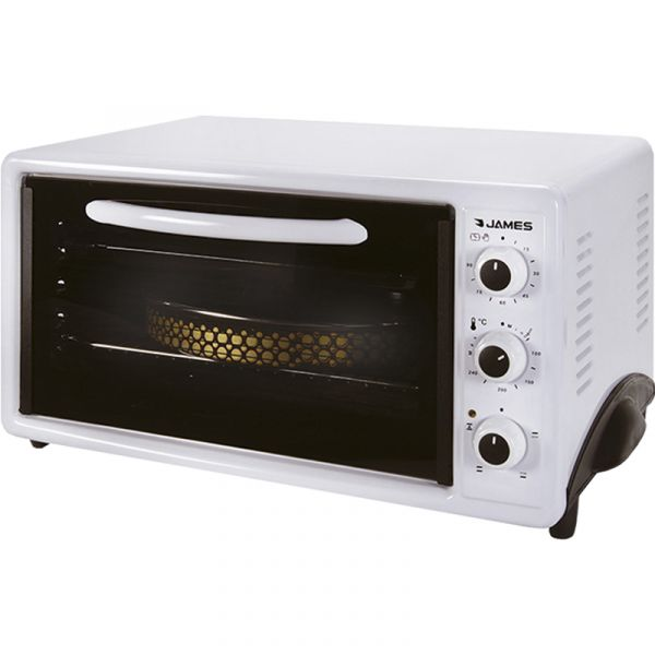 HORNO ELECTRICO JAMES 40L HJT40  BLANCO