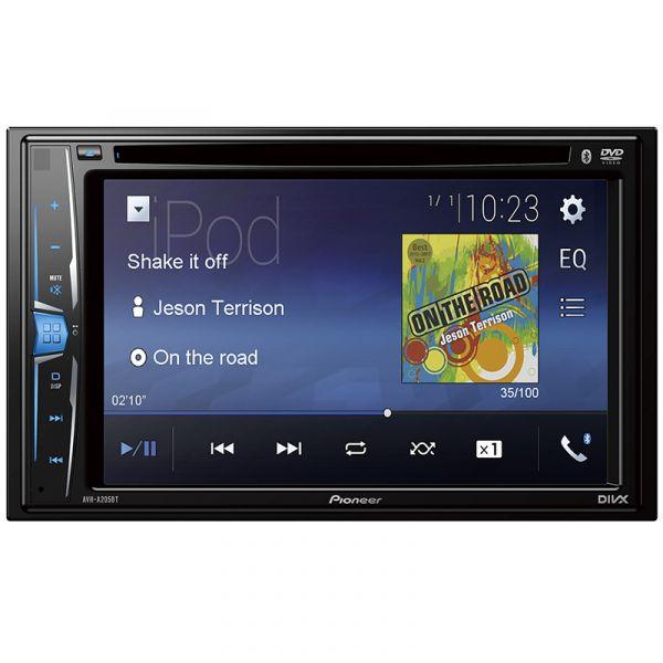AUTORRADIO PIONEER AVH-A205BT DVD 6.1