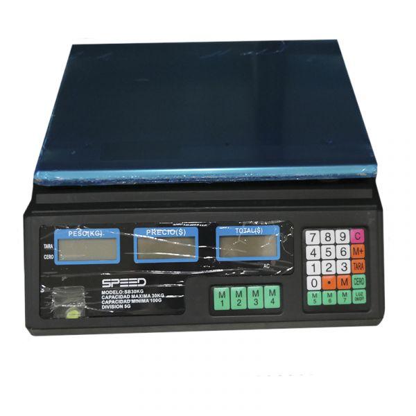 BALANZA SPEED DIGITAL  30KG S/ COLUMNA SB30KC/SB30KG