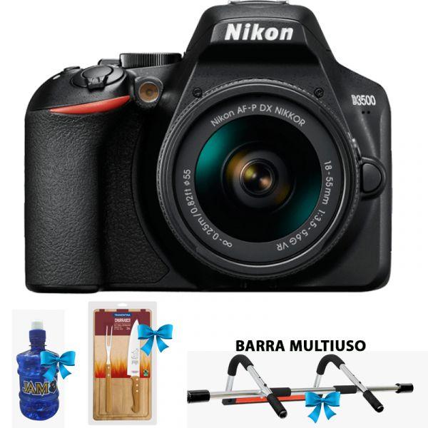 CAMARA FOTOGRAFICA NIKON D3500 18-55m FHD 24.2MP