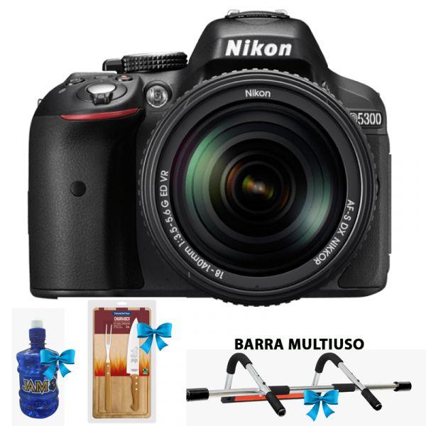 CAMARA FOTOGRAFICA NIKON D-5300 KIT AF-P LENTE 18-55 VR 24.2MP