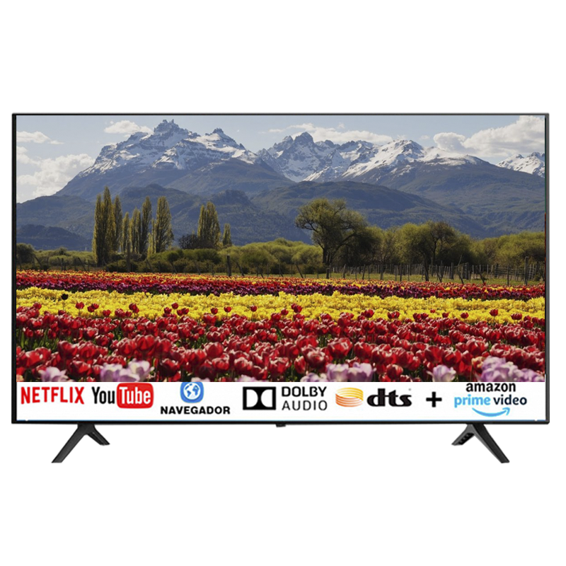 TV JAM 43 SMART ISDB-T MOD SK43E10 RESOLUCIÓN FHD 1,920X1,080P SISTEMA OP.LINUX