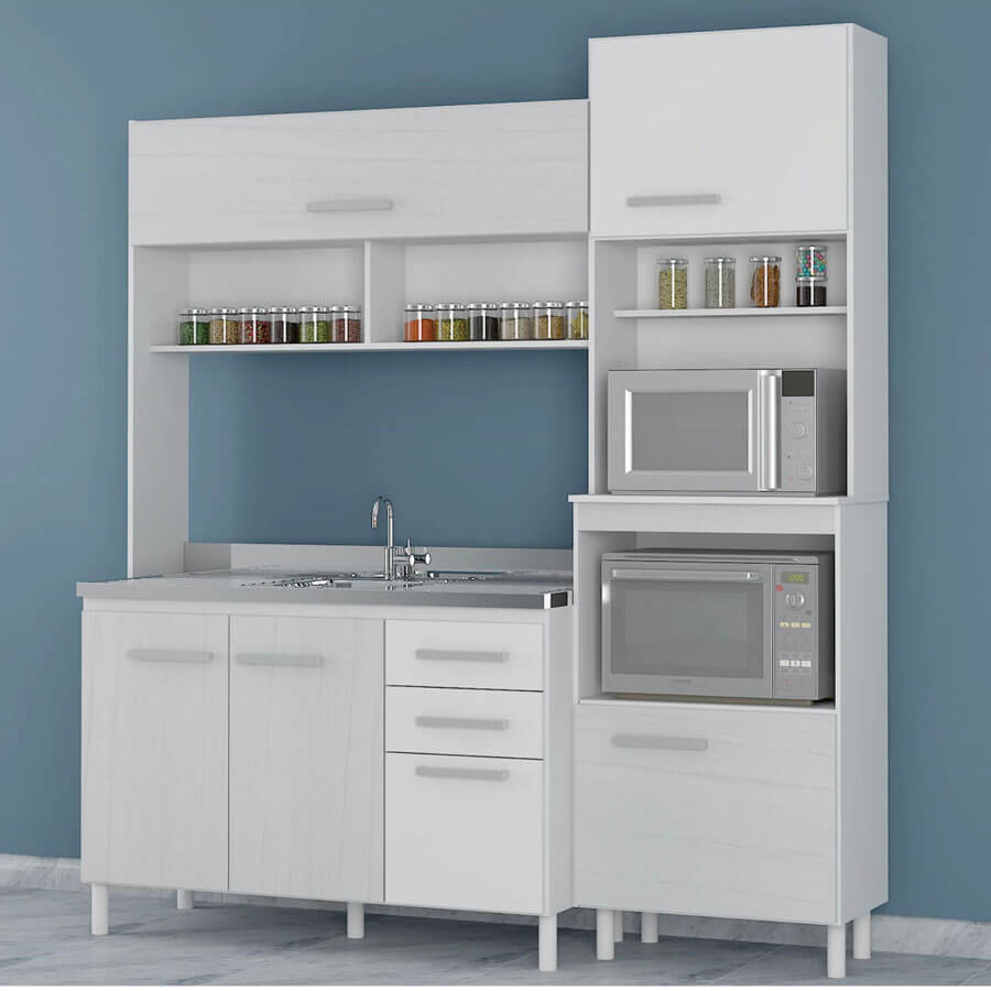 Tupi S A Kit Cocina Casablanca Bar 5p Ar Tx Bc Abba  # Muebles Para Cocina Tupi