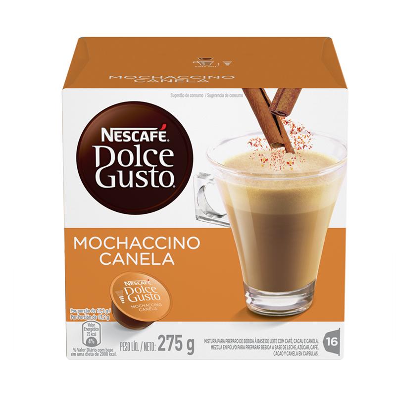 CAPSULA NESTLE DOLCE GUSTO CAFE MOCHACCINO CANELA 16CAP 3X 7891000256510